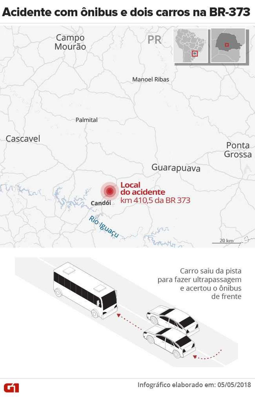 Motorista que abandonou carro após acidente com nove mortos no Paraná se apresenta à polícia
