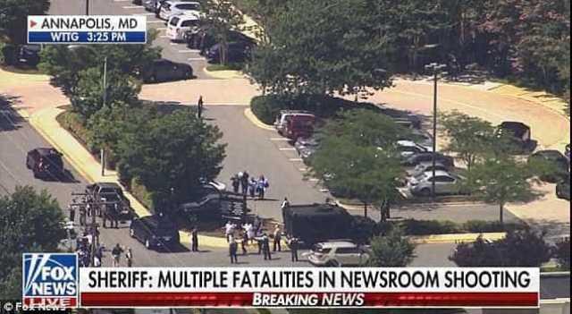Tiroteio em redação de jornal nos Estados Unidos deixa mortos e feridos