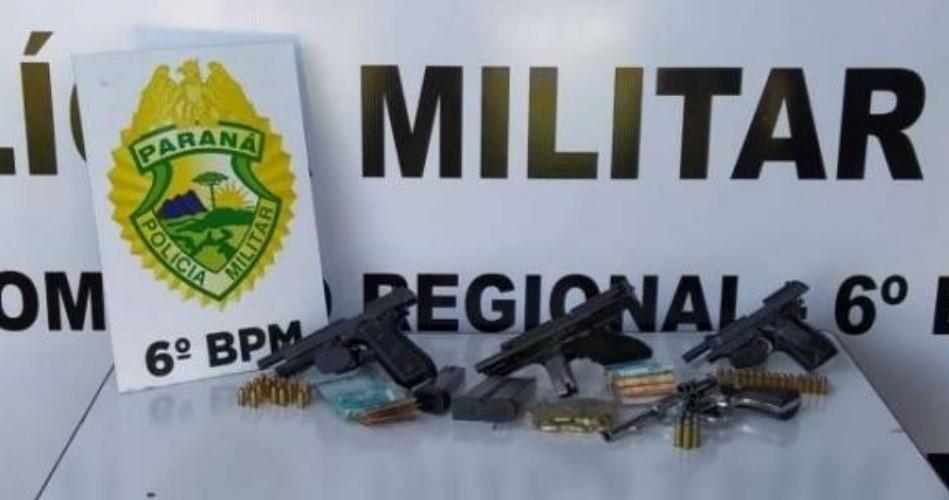Um morto e dez presos em Operação da PM em Quedas e Espigão Alto